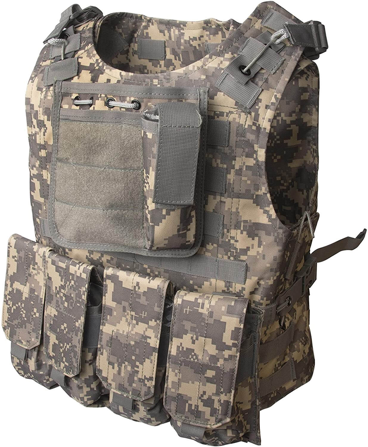 ALEKO PBTV52 Paintball Airsoft Chest Protector Tactical Vest