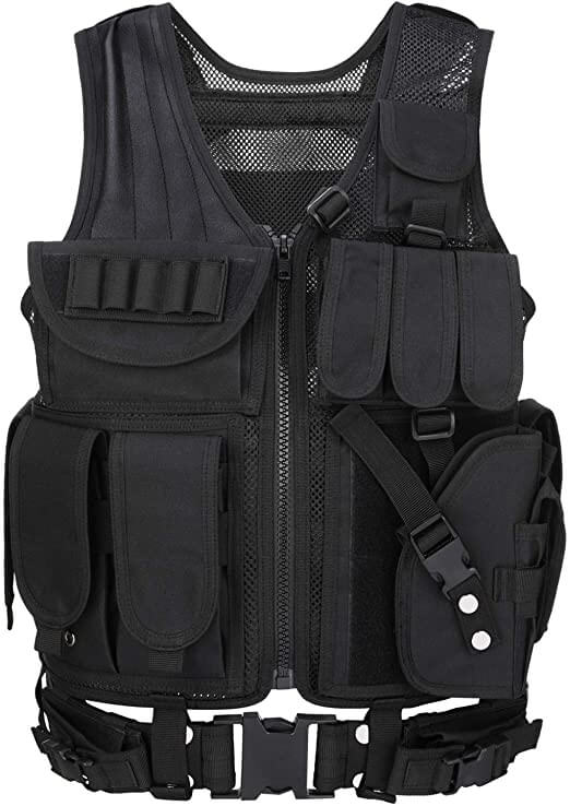 Barbarians Tactical Molle Vest Military Airsoft PAINTBALL VEST Assault Swat