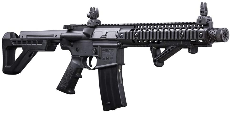 DPMS Full Auto SBR –Powered BB Air RIFLE with Dual-Action