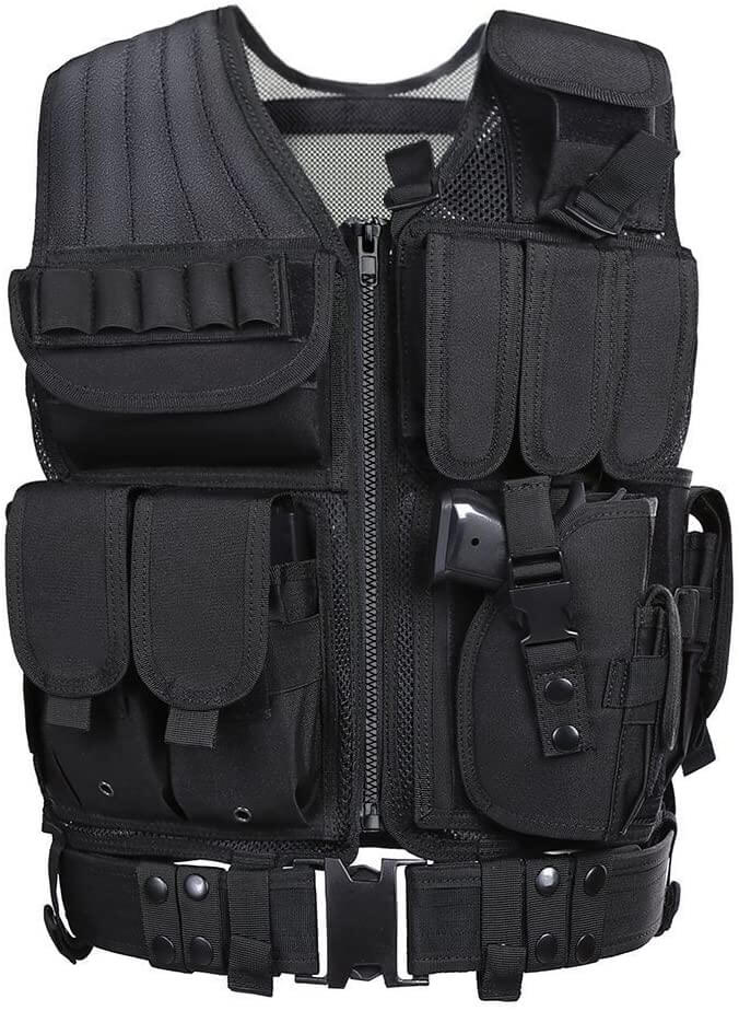 GZ XINXING S-4X Law Enforcement Tactical Airsoft Paintball Vest