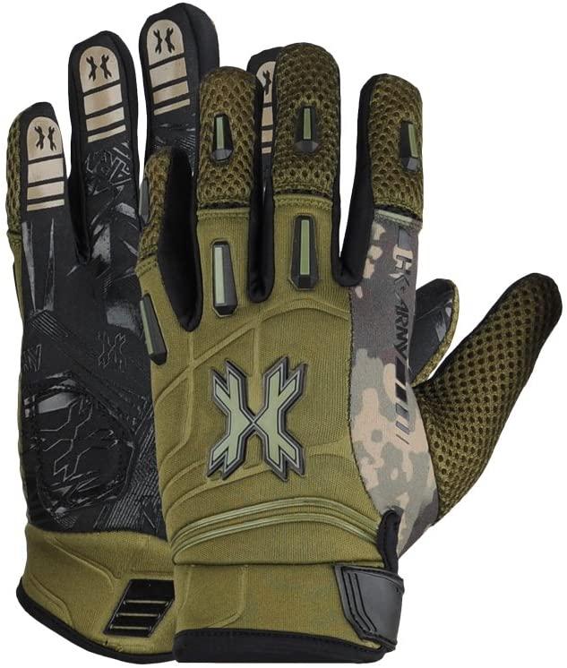 HK Army Full Finger Paintball Gloves