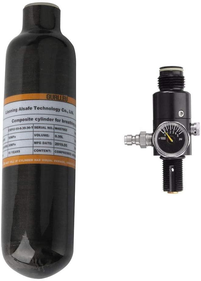 IORMAN 0.35L Carbon Fiber Air Tank (Empty Bottle)