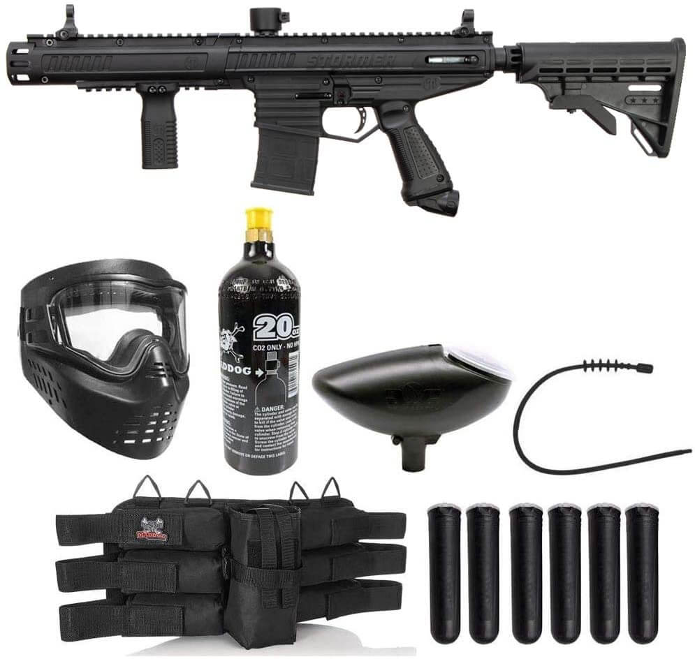 Maddog Tippmann Stormer Titanium Paintball Gun Marker