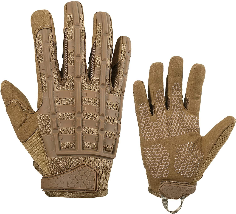 YOSUNPING Rubber Knuckle Full Finger Gloves